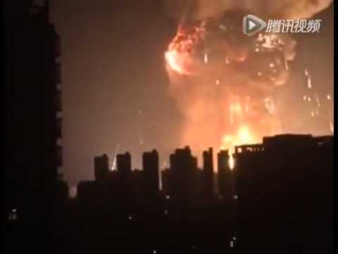 Explosion in Tianjin, China 2015