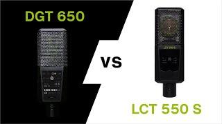 LEWITT DGT 650 vs. 2 LCT 550 Stereo Recording Comparison