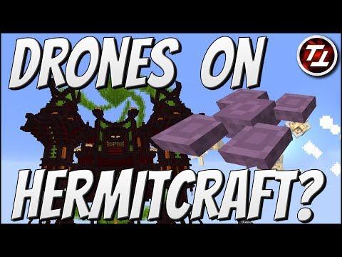 Drones on Hermitcraft?!