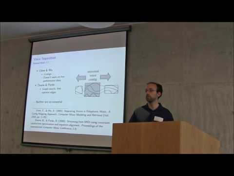 MIC 2016: Andrew McLeod - Symbolic Music Analysis for Music Transcription