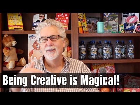 Being Creative is Magical! Don't Lose Sight of That