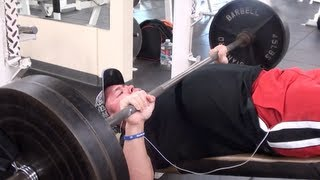 Incline Benchpress Personal Record! Push - Chest Shoulders Triceps