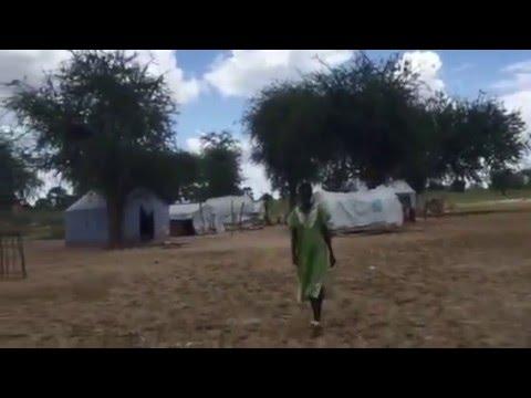Conflict in South Sudan: IDP camp in Twic, Warrap