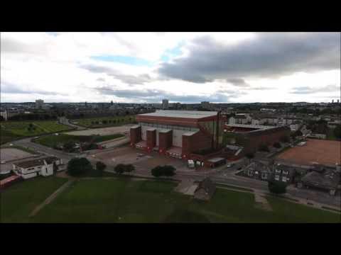Aberdeen Beach & Pittodrie stadium