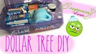 DOLLAR TREE DIY DIH SICK KIT | CRICUT PROJECT