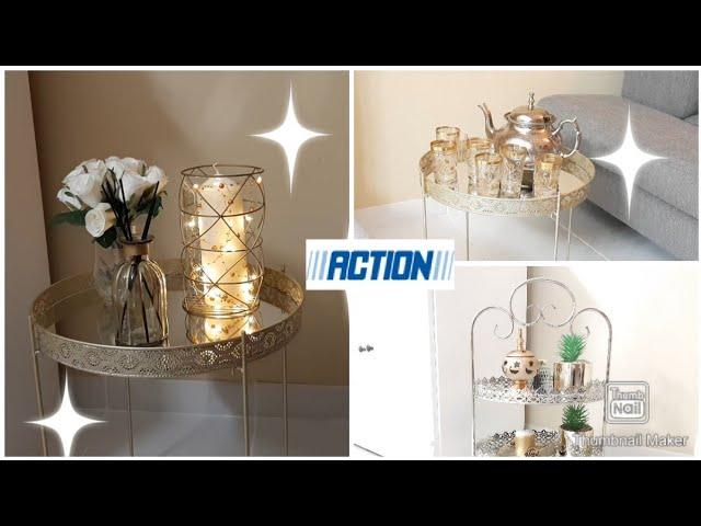 Idee Deco Decoration Plateau Action Youtube