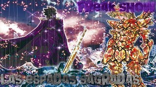 Saint seiya:El origen de las poderosas espadas sagradas!