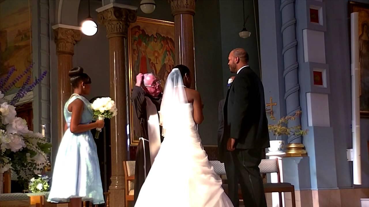 A black roman catholic wedding youtube a black roman catholic wedding junglespirit Gallery