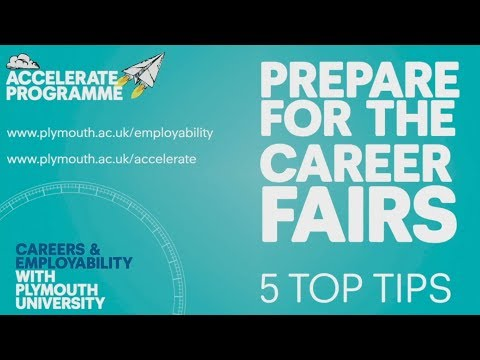 Prepare for the Career Fairs – 5 top tips