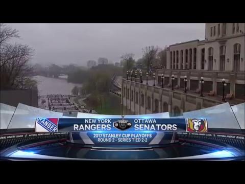 Pregame Intro/Anthems - New York Rangers vs Ottawa Senators ECSF Game 5 05/06/17