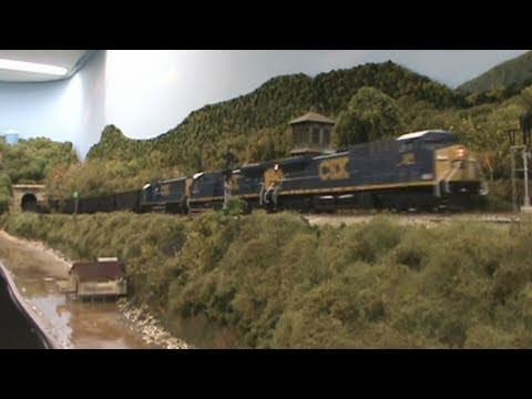 Awesome HO Scale May Operation Session at Zane Trace & National Trails