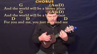 Put A Little Love In Your Heart - Ukulele Cover Lesson in G with Chords/Lyrics