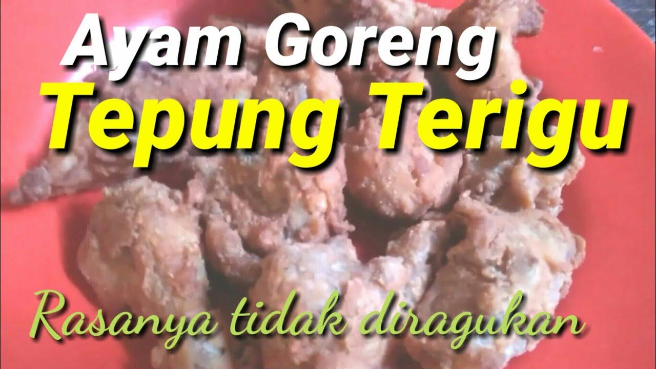 membuat ayam goreng tepung terigu  enak youtube Resepi Ayam Goreng Kunyit Madu Enak dan Mudah