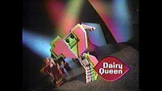 Dairy Queen Transformadores Treatmeal 90 Comerciales (1993)