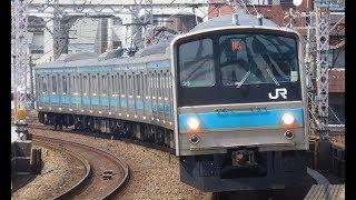走行音 / JR西日本205系0番台 HI602編成 界磁添加励磁制御(MT61 歯車比6.07) 東岸和田→熊取