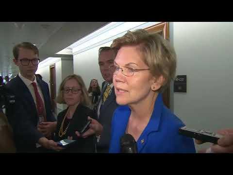 Elizabeth Warren stops short of calling Trump a racist