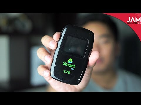 Smart Bro LTE Pocket WiFi From Evoluzn Quick Review