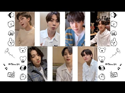 BTS - 'Life Goes On' (Video call ver.) - All member version