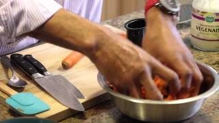 Creamy Carrot Raisin Salad : Vegan & Healthy Recipes