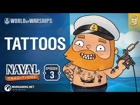 Naval Traditions: Tattoos | World of Warships