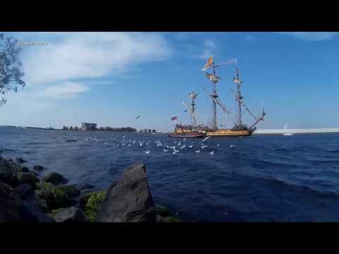 Tall Ships Sail Amsterdam Sail Out 2015 sj4000 /sjcam