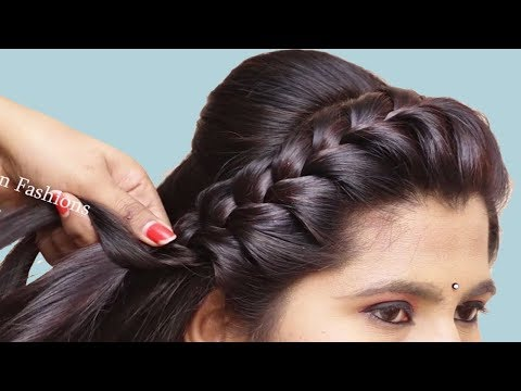 Easy Hairstyles For Girls || Step By Step hairstyle For Beginners | Hair style girl thumbnail