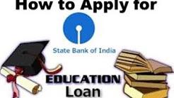 How to Apply Education Loan in SBI | Complete Guide on SBI Education Loan