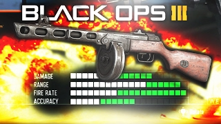 """THE NEW GOD CLASS in Black Ops 3! (WAY TOO OVERPOWERED) """"PPSH Best Class Setup"""""""