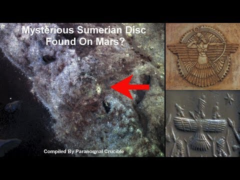 nouvel ordre mondial | Mysterious Sumerian Disc Found On Mars - October 25, 2017