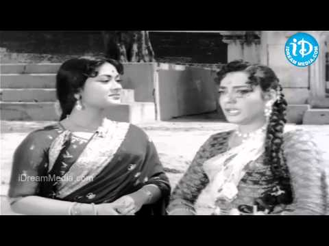 ANR, Jamuna, Savitri Best Comedy Scene - Moogamanasulu Movie