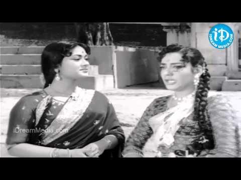 ANR, Jamuna, Savitri Best Comedy Scene - Moogamanasulu Movie