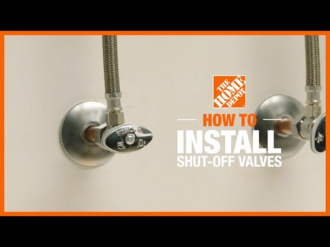 how-to-install-shutoff-valves-|-the-home-depot-plumbing-tips
