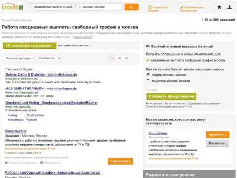 Общие положения, рабочее время, Трудовой кодекс (ТК РФ