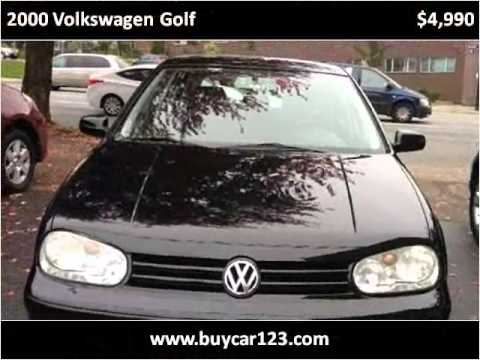 2000 Volkswagen Golf Used Cars Vancouver BC