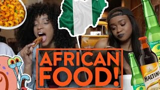 FUNG BROS FOOD: Nigerian Food! (Pounded Yam, Jollof Rice, Pepper Fish)