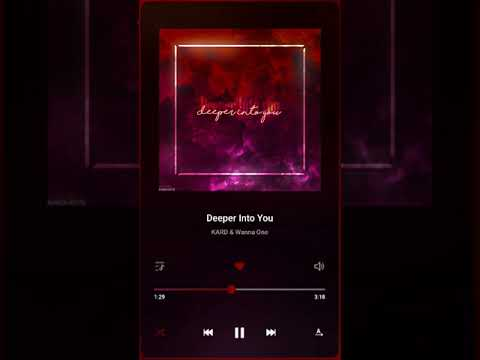 Free Download Wanna One & Kard - 'deeper X Into You' Mashup Mp3 dan Mp4
