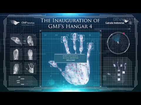HAND SCAN - The Inauguration of GMF'S Hangar 4