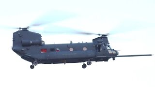 US Army SOAC - MH-47G Chinook Special Forces Helicopter First Flight [720p]