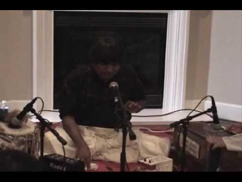 Raag Yaman (2 of 2) - Pt. Ganapati Bhat Hasanagi in a House Concert