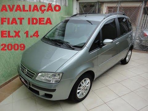 Caçador de Carros: Fiat Idea ELX 1.4 EM DETALHES