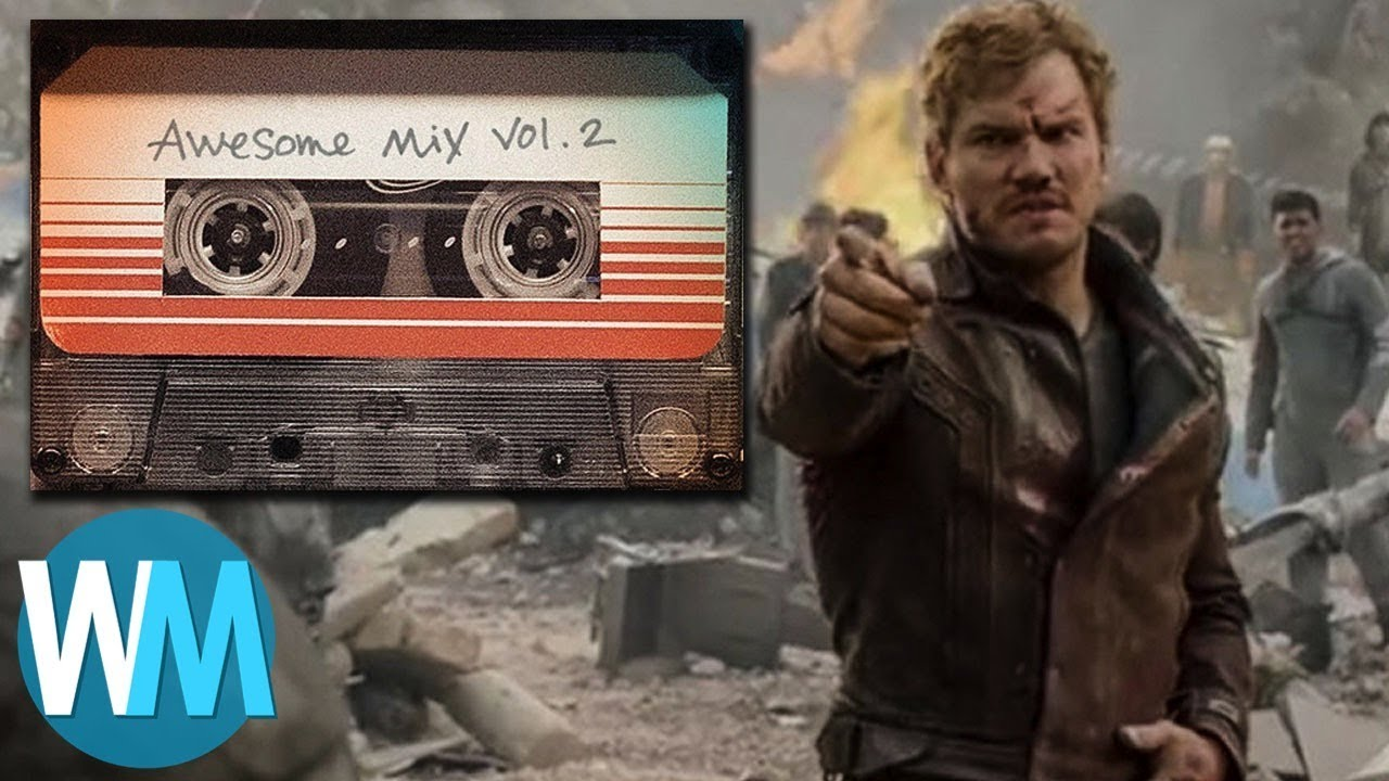 Top 10 Songs From The Guardians Of The Galaxy Awesome Mixes Youtube