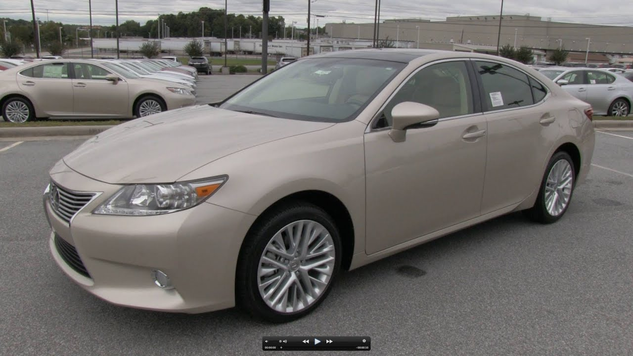 2013 2014 Lexus ES350 Ultra Luxury Start Up Exhaust and In Depth
