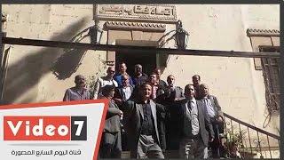تفاصيل اعتصام أعضاء إتحاد الكتاب للمطالبة بإقالة علاء عبد الهادى