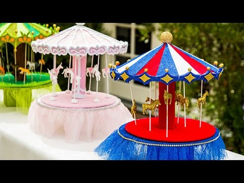 How To - How To make a Sparkling Carousel - Hallmark Channel