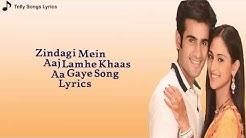 Tu Hi Tu Hai # Most beautiful song with lyrics# Full HD video..!!