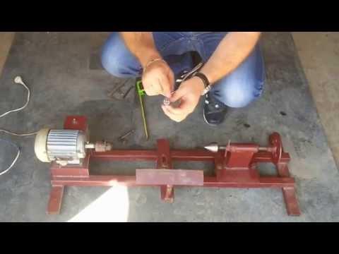видео: токарный станок своими руками/diy woodturning lathe