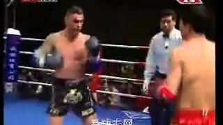 Sanshou Vs Best Muai Thai World Champion : Zhang, kaiyin Vs John Wayne Parr(JWP)