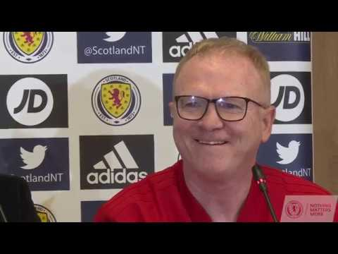 Alex McLeish Press Conference | Albania v Scotland