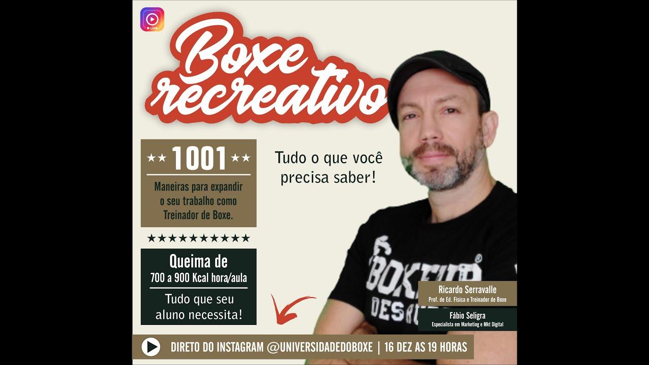 Aula/Live: Boxe Recreativo