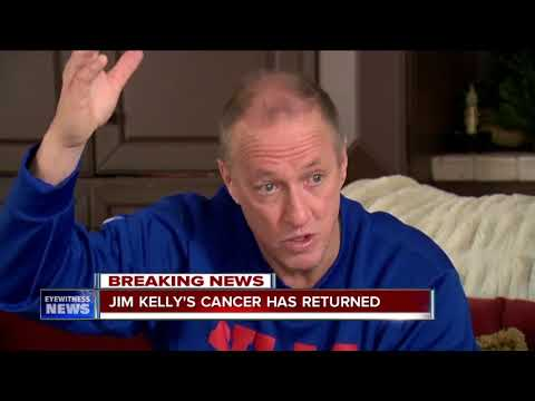 Jim Kelly: My cancer has returned